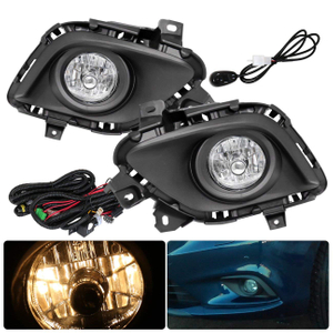Clear Lens Driving Fog Lights Fog Lamps For Mazda 6 13-15