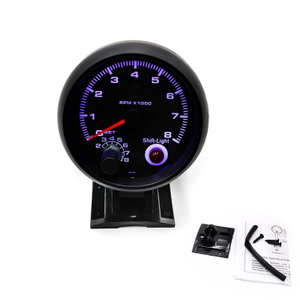 "Led 3'' 3/4"" Racing Car Meter Tachometer 0-8000 Rpm Gauge with Shift Light"